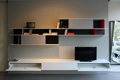 Libreria mobile soggiorno Poliform