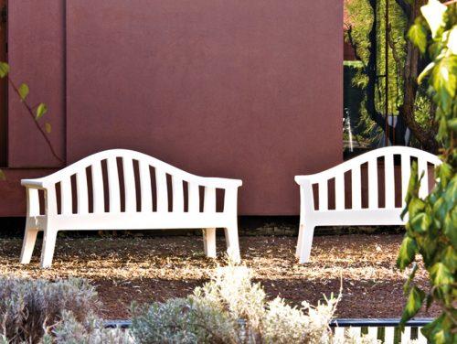 panchina da giardino serralunga design