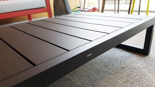 tavolino da esterno in alluminio in offerta
