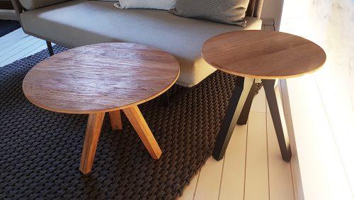 tavolino in teak di design da esterno kettal Reggio Emilia