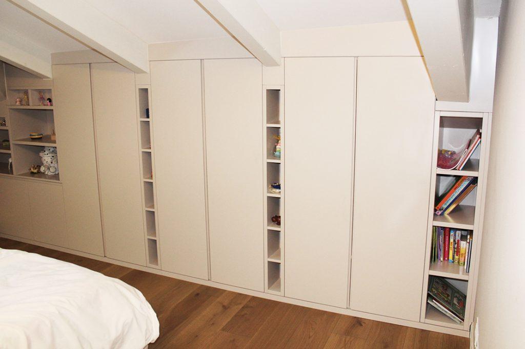 armadio mansardato su misura Reggio Emilia