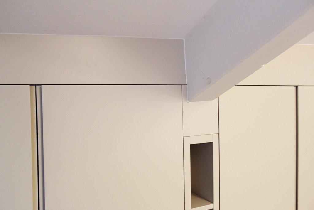 armadio laccato su misura
