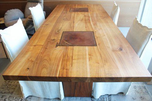 offerta tavolo in legno massello Boss Executive Riva 1920