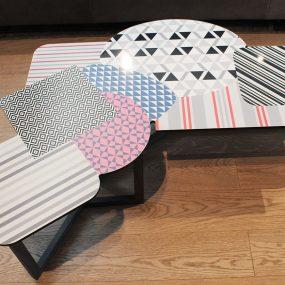 tavolino doppler low bonaldo in offerta