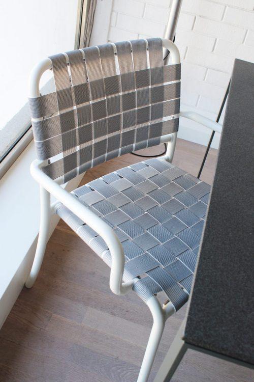 sedia da esterno in alluminio gervasoni in sconto