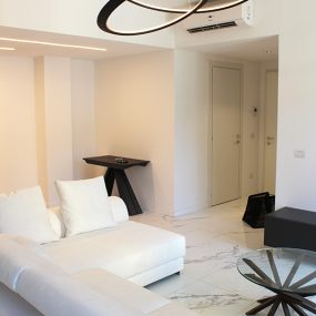 Divano ad angolo per un soggiorno moderno