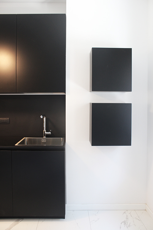 Cucina moderna colore nero