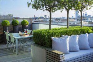 Arredamento moderno terrazze