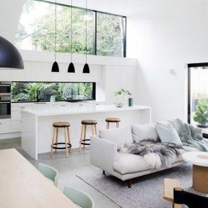 Come arredare soggiorni e cucine insieme in un unico ambiente