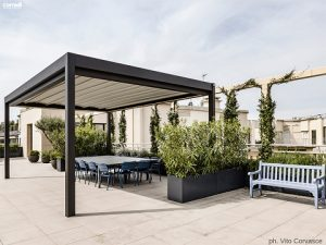 Progettazione terrazzi attici
