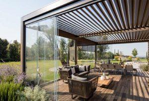 veranda vetrate scorrevoli