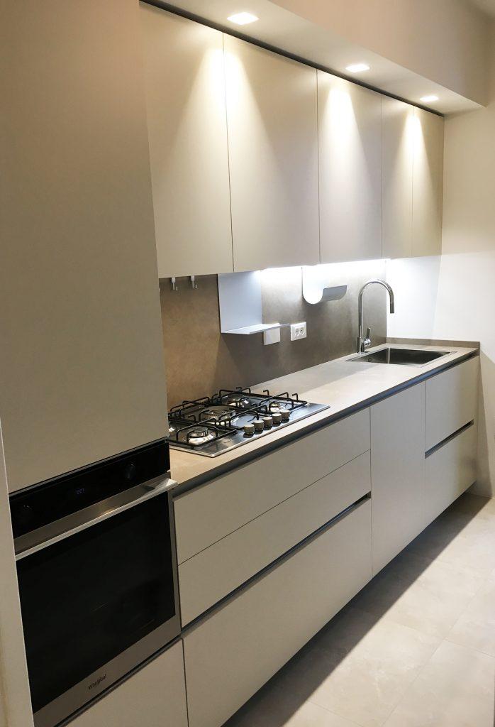 Piccola cucina moderna