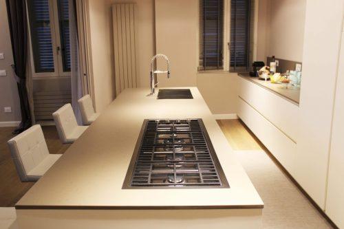 piano cucina moderno quarzite