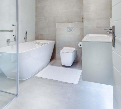 Pavimento in resina per il bagno