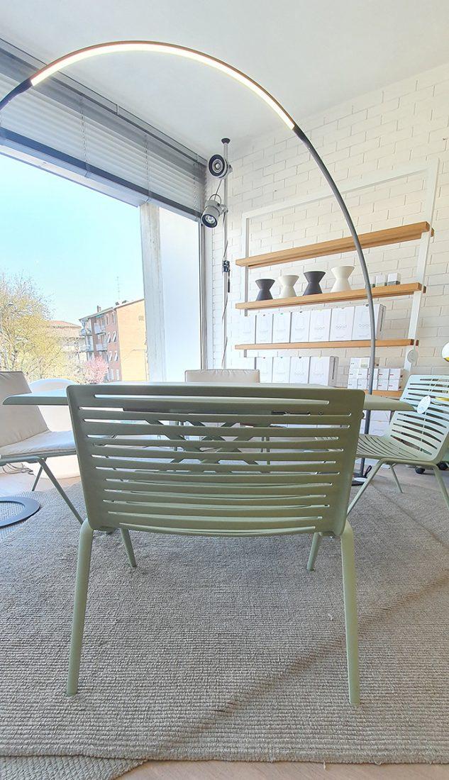 Fast Sedie Da Giardino.Poltrona Lounge Da Giardino Zebra Fast Iori Arredamenti