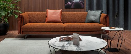 divano moderno bonaldo saddle