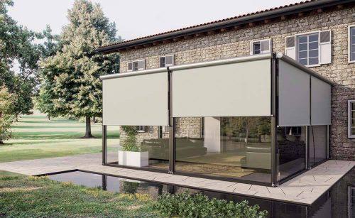 tendaggi scorrevoli per vetrate