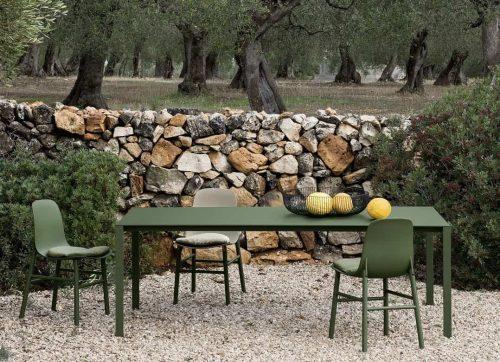piano per tavolo da esterno sottile