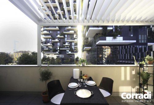 Verande moderne copertura a lamelle
