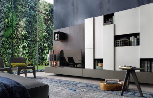 Mobile soggiorno moderno Poliform