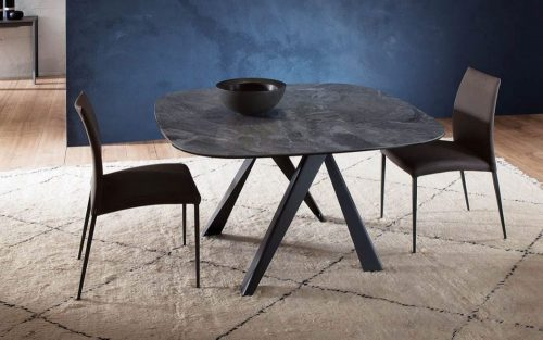 Dimensioni tavoli_tavolo Bombo di Ozzio Italia