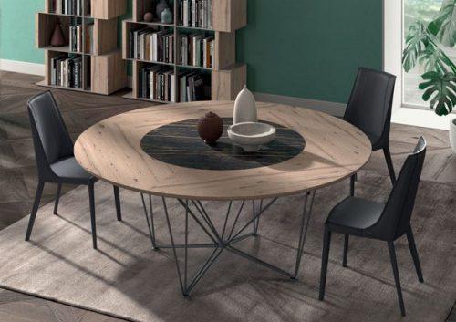Tavolo per 6 persone: modello Grant di Ozzio Italia