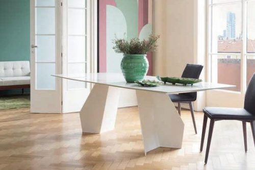 Altezza tavolo Origami di Bonaldo