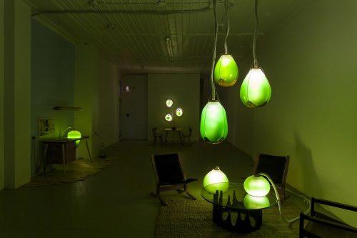 Installazione Living Things biodesign