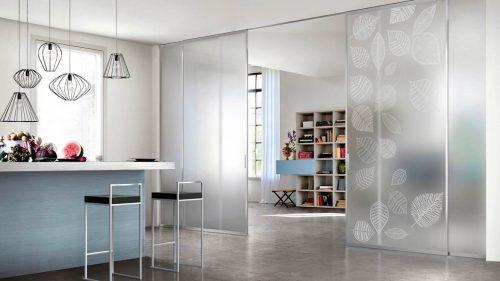 Doimo design_Doal porte scorrevoli in vetro